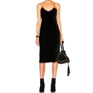 NILI LOTAN Velvet Cami Dress Sz M